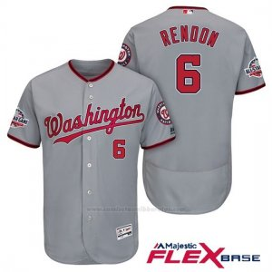 Camiseta Beisbol Hombre Washington Nationals Anthony Rendon Gris 2018 All Star Flex Base