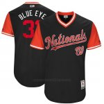 Camiseta Beisbol Hombre Washington Nationals 2017 Little League World Series Max Scherzer Azul