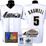 Camiseta Beisbol Hombre Houston Astros 5 Jeff Bagwell Blanco Turn Back The Clock 1994