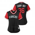 Camiseta Beisbol Mujer Arizona Diamondbacks John Ryan Murphy 2018 Llws Players Weekend Choir Boy Negro
