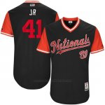 Camiseta Beisbol Hombre Washington Nationals 2017 Little League World Series Joe Ross Azul