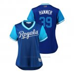 Camiseta Beisbol Mujer Kansas City Royals Jason Hammel 2018 Llws Players Weekend Hammer Royal
