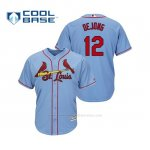 Camiseta Beisbol Hombre Cardinals Paul Dejong Cool Base Majestic Alternato Alternato Horizon Blue