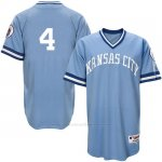 Camiseta Beisbol Hombre Kansas City Royals Alex Gordon Light Azul Turn Back The Clock