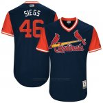 Camiseta Beisbol Hombre St. Louis Cardinals 2017 Little League World Series Kevin Siegrist Azul