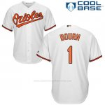 Camiseta Beisbol Hombre Baltimore Orioles 1 Michael Bourn Cool Base