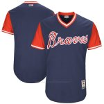 Camiseta Beisbol Hombre Atlanta Braves Players Weekend 2017 Personalizada Azul