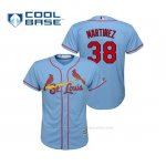 Camiseta Beisbol Nino St. Louis Cardinals Jose Martinez Cool Base Majestic Alternato Horizon 2019 Azul