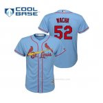 Camiseta Beisbol Nino St. Louis Cardinals Michael Wacha Cool Base Majestic Alternato Horizon 2019 Azul