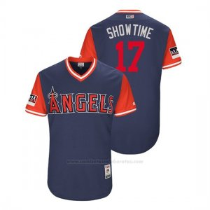 Camiseta Beisbol Hombre Los Angeles Angels Shohei Ohtani 2018 Llws Players Weekend Showtime Azul