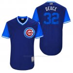 Camiseta Beisbol Hombre Chicago Cubs 2017 Little League World Series 32 Brian Duensing
