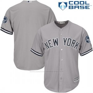 Camiseta Beisbol Hombre New York Yankees Andy Pettitte Gris Cool Base