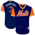 Camiseta Beisbol Hombre New York Mets 2017 Little League World Series Curtis Granderson Royal