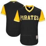 Camiseta Beisbol Hombre Pittsburgh Pirates 2017 Little League World Series Negro