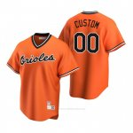 Camiseta Beisbol Hombre Baltimore Orioles Personalizada Cooperstown Collection Alterno Naranja