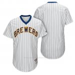 Camiseta Beisbol Hombre Milwaukee Brewers Blanco 1982 Turn Back The Clock