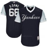 Camiseta Beisbol Hombre New York Yankees 2017 Little League World Series Dellin Betances Azul