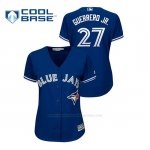 Camiseta Beisbol Mujer Toronto Blue Jays Vladimir Guerrero Jr. Cool Base Alternato Azul