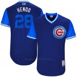 Camiseta Beisbol Hombre Chicago Cubs 2017 Little League World Series 28 Kyle Hendricks