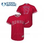 Camiseta Beisbol Nino Los Angeles Angels Shohei Ohtani Cool Base Alternato Rojo