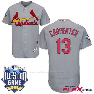 Camiseta Beisbol Hombre St. Louis Cardinals National 2016 Mlb All Star St. Louis 13 Matt Carpenter Flex Base