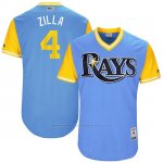 Camiseta Beisbol Hombre Tampa Bay Rays 2017 Little League World Series Blake Snell Azul