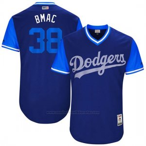 Camiseta Beisbol Hombre Los Angeles Dodgers 2017 Little League World Series Brandon Mccarthy Royal