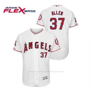 Camiseta Beisbol Hombre Los Angeles Angels Cody Allen 150th Aniversario Patch Flex Base Blanco