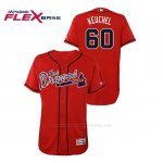 Camiseta Beisbol Hombre Atlanta Braves Dallas Keuchel Hispanic Heritage Flex Base Rojo