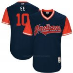 Camiseta Beisbol Hombre Cleveland Indians 2017 Little League World Series Edwin Encarnacion Azul