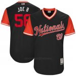 Camiseta Beisbol Hombre Washington Nationals 2017 Little League World Series Joe Blanton Azul