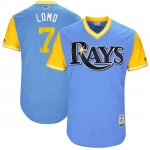 Camiseta Beisbol Hombre Tampa Bay Rays 2017 Little League World Series Logan Morrison Azul