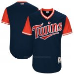 Camiseta Beisbol Hombre Minnesota Twins 2017 Little League World Series Azul