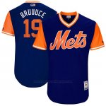 Camiseta Beisbol Hombre New York Mets 2017 Little League World Series Jay Bruce Royal