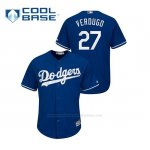 Camiseta Beisbol Hombre Los Angeles Dodgers Alex Verdugo Cool Base Azul