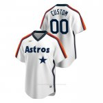 Camiseta Beisbol Hombre Houston Astros Personalizada Cooperstown Collection Primera Blanco