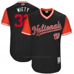 Camiseta Beisbol Hombre Washington Nationals 2017 Little League World Series Matt Wieters Azul