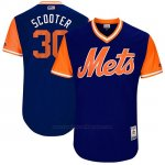 Camiseta Beisbol Hombre New York Mets 2017 Little League World Series Michael Conforto Royal