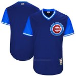 Camiseta Beisbol Hombre Chicago Cubs Players Weekend 2017 Personalizada Azul