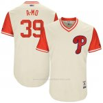 Camiseta Beisbol Hombre Philadelphia Phillies 2017 Little League World Series Adam Morgan Tan