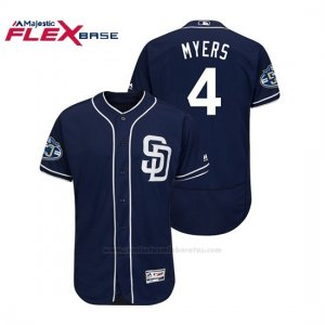 Camiseta Beisbol Hombre Padres Wil Myers 50th Aniversario Alternato Flex Base Azul