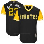 Camiseta Beisbol Hombre Pittsburgh Pirates 2017 Little League World Series David Freese Negro