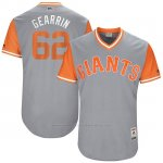 Camiseta Beisbol Hombre San Francisco Giants 2017 Little League World Series Cory Gearrin Gris