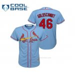 Camiseta Beisbol Nino St. Louis Cardinals Paul Goldschmidt 2019 Cool Base Majestic Alternato Horizon Blue