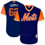 Camiseta Beisbol Hombre New York Mets 2017 Little League World Series Erik Goeddel Royal
