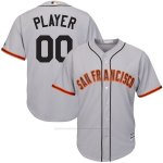 Camiseta Nino San Francisco Giants Personalizada Gris