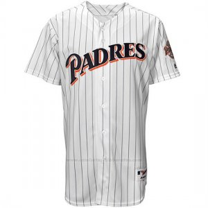 Camiseta Beisbol Hombre San Diego Padres San Diego Turn Back The Clock Blanco