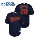 Camiseta Beisbol Hombre Minnesota Twins Eddie Rosario Cool Base Alternato Azul