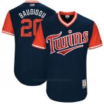 Camiseta Beisbol Hombre Minnesota Twins 2017 Little League World Series Eddie Rosario Azul