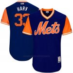 Camiseta Beisbol Hombre New York Mets 2017 Little League World Series Matt Harvey Royal